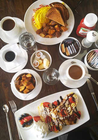 Sunday brunch, Chilled Cork Restaurant, Chatham, Ontario